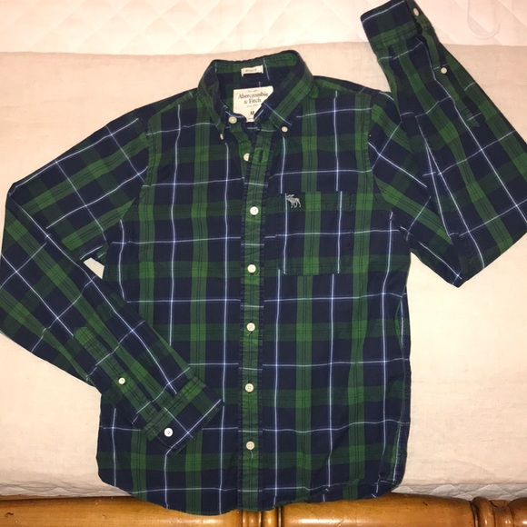 Abercrombie & Fitch Other - Abercrombie & Fitch Muscle Plaid Button Down Shirt